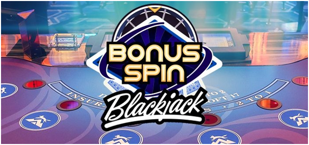 Bonus Spin Blackjack at Vegas