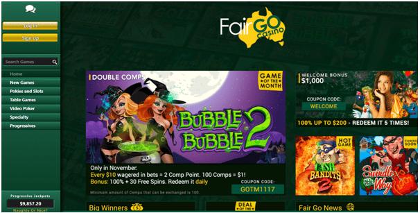 Fair Go Casino Pontoon