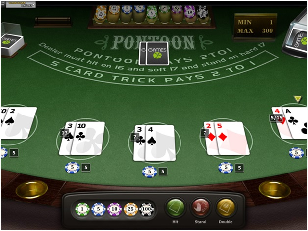 How to play free Pontoon at online casinos