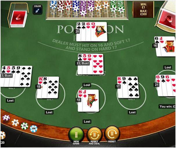Pontoon- How to play