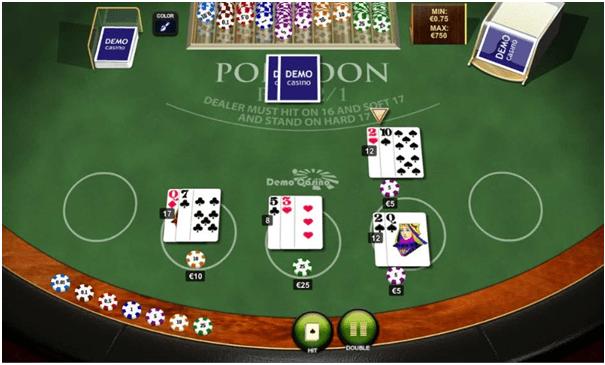 Simple strategies to win Pontoon